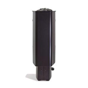 Slim elektrisk badstuovn svart